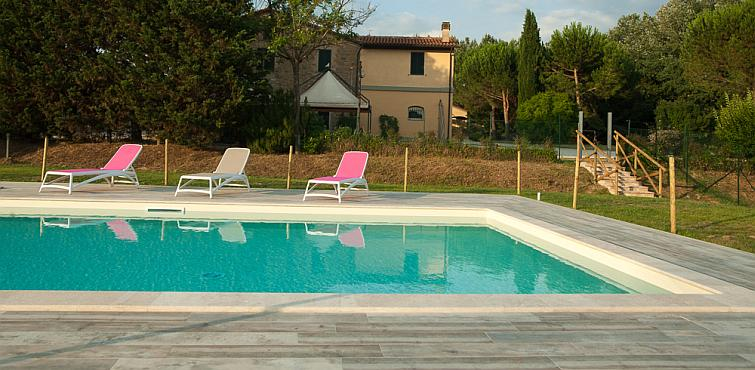 farmhouse with pool assisi perugia